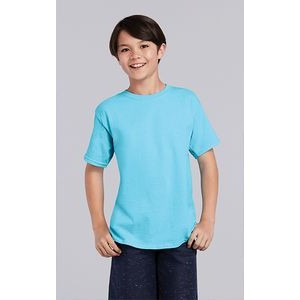 -Light Blue -M-12PK Double Piqu/é Sport Shirt Gildan Boys DryBlend 6.3 oz G728B